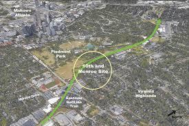 Atlanta Beltline Map Parks Archives U2022 Sylvatica Studio