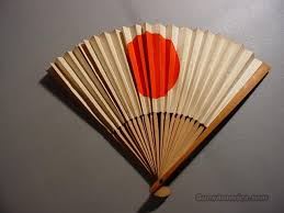 japanese fans for sale ww ii japanese meatball folding fan flag for sale