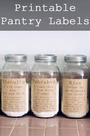 Kitchen Storage Labels - 28 best organizing labels images on pinterest organizing labels