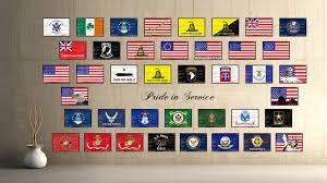 ireland saint petrick military flag shabby chic patriotic wall art
