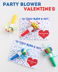 make party blower valentine u0027s day cards free printable