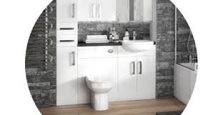 Fitted Bathroom Furniture White Gloss Fitted Bathroom Furniture Modern Traditional Plumbing