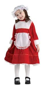 mrs santa claus costume medium 8 10 classic lil mrs santa claus costume ebay