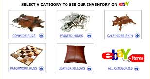 Ebay Cowhide Rugs More Cowhides Rugs Leathers Pillows Ebay Stores