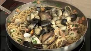 cuisiner des fruits de mer recette spaghetti integrali aux fruits de mer plats cuisine
