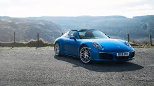 miami blue porsche turbo s porsche 911 targa 4s 2016 review by car magazine