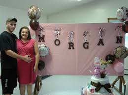 pink camouflage baby shower 3449