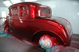 how to get a candy apple red finish jemsite