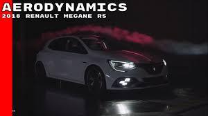 2018 renault megane rs aerodynamics youtube