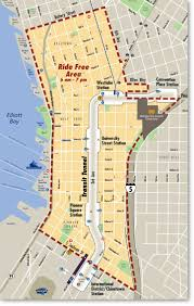 Seattle Districts Map by The Ride Free Area Seattle Fun Fact 7 Ride The Ducks Of Seattle