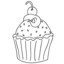 birthday cupcake color stamps food free