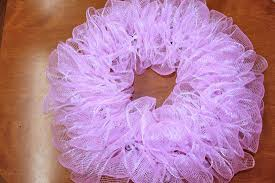 how to make a mesh wreath how to make a princess poly mesh wreath factory direct craft