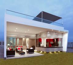 modern open floor plan for house with peru casa graffiti ranch