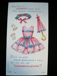 this is the birthday card 184 best paper doll greeting cards images on paper
