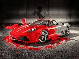 red ferrari ferrari red splash wallpapers by w4y on deviantart