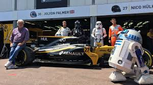 renault monaco postcard from monaco star wars crashes monte carlo u0027s street party