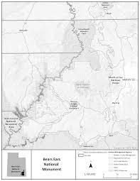 Utah Broadband Map by Federal Register Establishment Of The Bears Ears National Monument