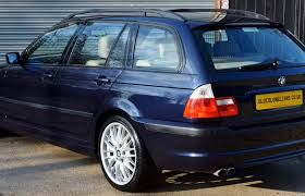 bmw orient blue metallic bmw e46 3 series 330 msport touring auto colonel cars