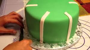 Decoration Fondant Cake Decorating A Football Theme Fondant Cake Youtube