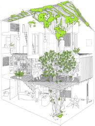 House Architecture Drawing A21studio A21house