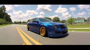 custom 2009 ford fusion stance legends lydell s bagged 2007 wrb ford fusion