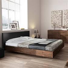 Walnut Bed Frames Float King Bed Frame Anthracite Walnut Bedroom