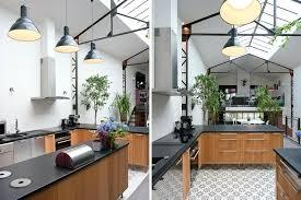 cuisine style indus deco style industriel loft cuisine ouverte style industriel
