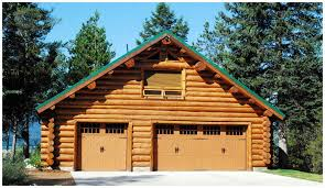 cabin garage plans and ya gotta a garage to go along with your log home and log