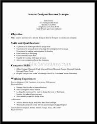 Interior Design Sample Resume 100 Advanced Excel Resume Sample Interior Design Resume