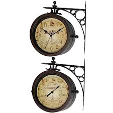 Patio Clock And Thermometer Sets by Outdoor Clock Barometer Thermometer Outdoor Designs