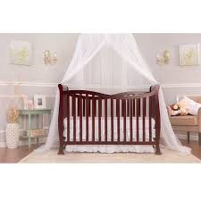 Cherry Convertible Crib Violet 7 In 1 Convertible Crib Cherry 310146116
