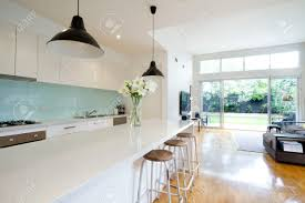 Contemporary Kitchen Contemporary Kitchen And Open Plan Living Room With Garden Aspect