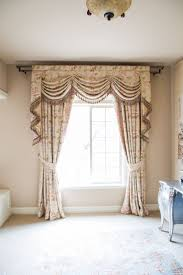 Window Curtain Valance Kitchen Bay Window Curtain Ideas Dining Table The Middle Room At