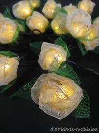 20 mini flower battery operated string led lights 6