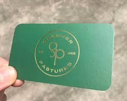 Farm Business Card Farm Business Cards Etsy