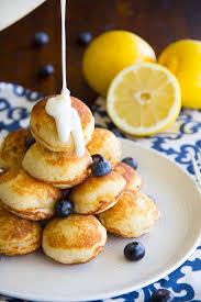 lemon blueberry pancake poppers say grace