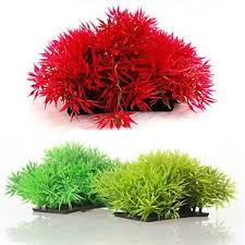 plastic plant artificial water grass for aquarium fish tank