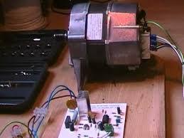 proto type speed module for a universal washing machine motor