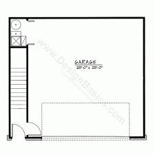 garage floor plan detached garage 40000 traditional home plan at