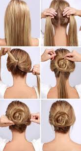 diy hairstyles in 5 minutes 13 easy diy hairstyles for long hair