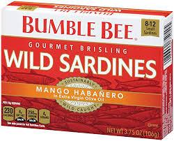 King Oscar Sardines Mediterranean Style - bumble bee wild sardines mango habanero in extra virgin olive oil
