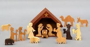 nativity sets wooden nativity set christmas creche christmas decoration