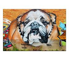 Georgia Bulldog Home Decor by Bulldog Artwork Promotion Shop For Promotional Bulldog Artwork On