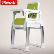 siege bebe pour manger poche split enfant à manger chaise en métal bébé nourrir chaise