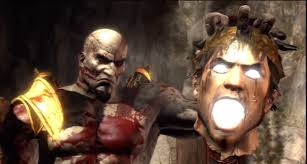 god of war 3 remastered all death scenes gods and titans 1080p