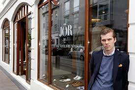 wunderkind icelandic fashion teams up with clothing brand