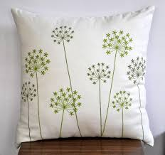 stylish embroidered pillow for bedroom design house