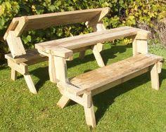 diy picnic table and bench picnic pinterest diy picnic table