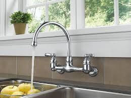 single handle wall mount kitchen faucet 200 single handle wall mount kitchen faucet b1 pcgamersblog
