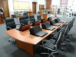 used conference room tables office conference room tables conference table with laptop computers